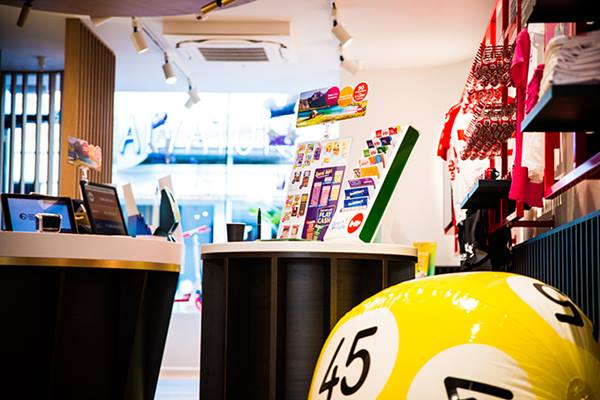Lottery Shop - Ostende