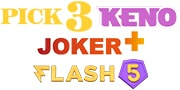 Pick3, Keno, Joker+ & Flash5