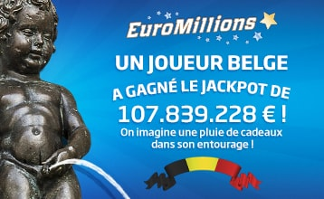 EuroMillions: gagnant Jackpot gigantesque   Loterie Nationale
