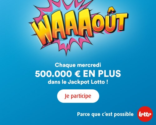 Parce que c'est possible | Lotto - Loterie Nationale