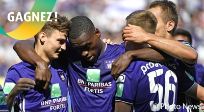 Concours Lottery Club - Anderlecht Standard