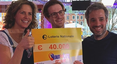 La Loterie Nationale soutient Viva for Life